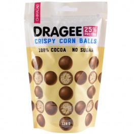 """CHIKALAB Драже """"Шарики кукурузные в шоколаде"""", 120 гр"""
