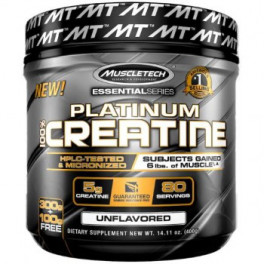 MuscleTech Essential 100% Creatine 400 гр